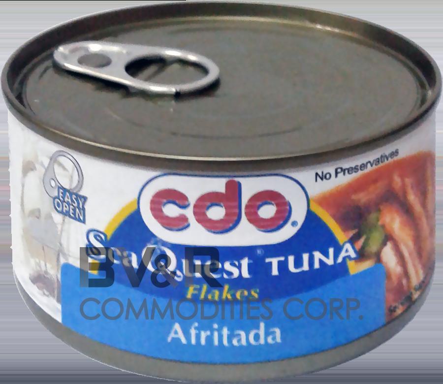 CDO SEA QUEST TUNA FLAKES AFRITADA