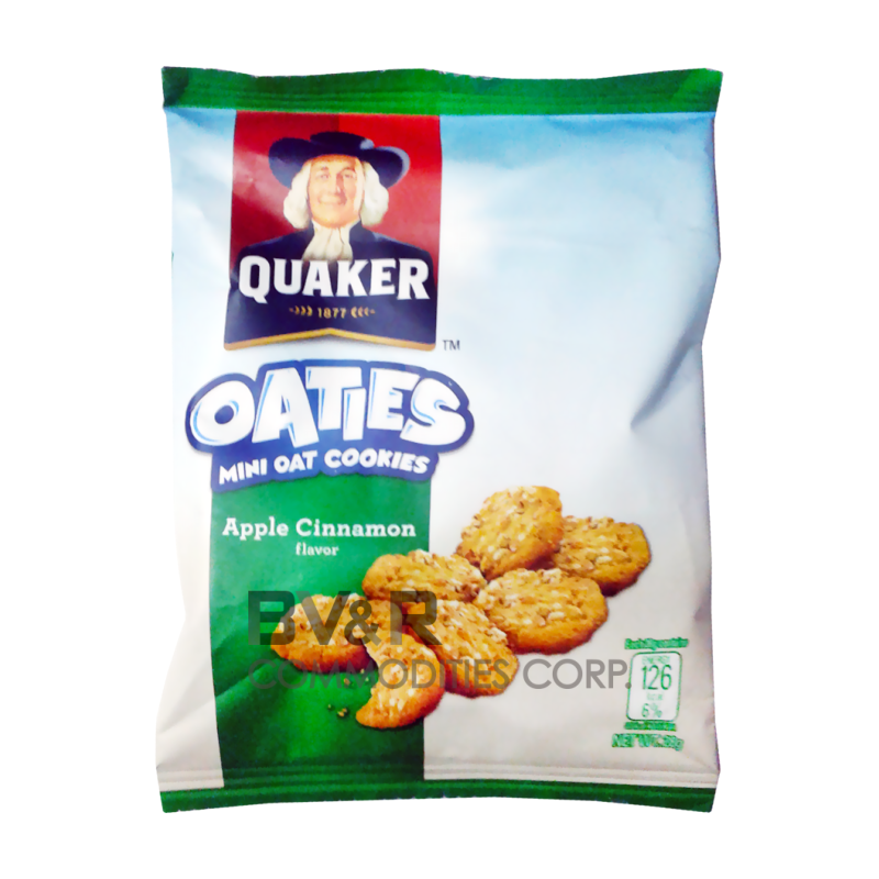 QUAKER OATIES MINI OAT COOKIES APPLE CINNAMON