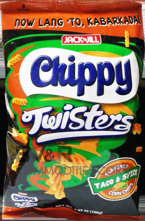 JACK 'n JILL CHIPPY TWISTERS CORN CHIPS