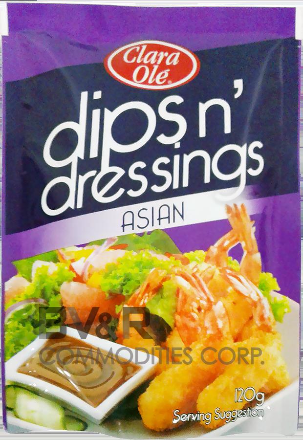 CLARA OLÉ DIPS n' DRESSINGS ASIAN