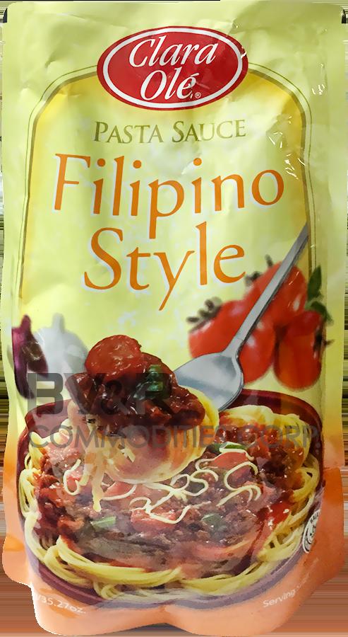 CLARA OLÉ FILIPINO STYLE PASTA SAUCE
