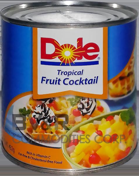 DOLE TROPICAL FRUIT COCKTAIL