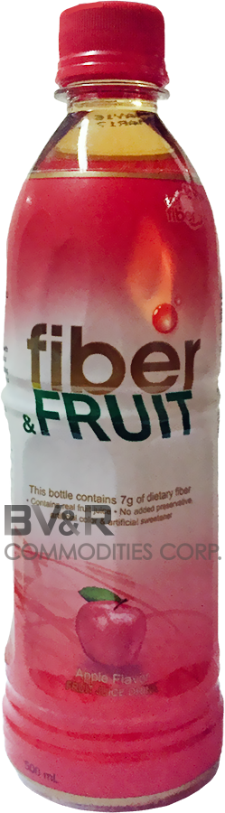 FIBER & FRUIT APPLE FLAVOR FRUIT JUICE DRINK