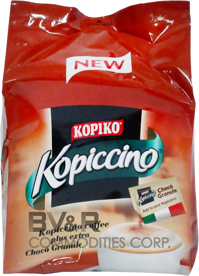 KOPIKO KOPICCINO COFFEE plus extra CHOCO GRANULE