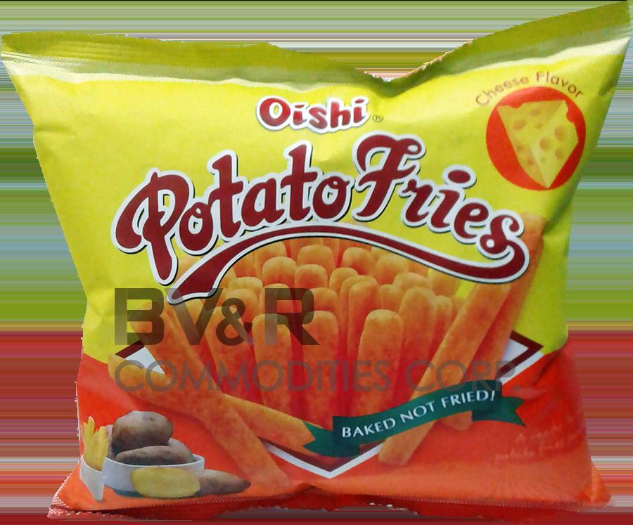 OISHI POTATO FRIES CHEESE FLAVOR
