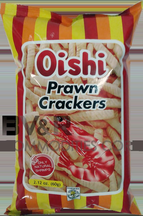 OISHI PRAWN CRACKERS