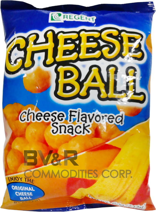 REGENT CHEESE BALL CHEESE FLAVORED SNACK