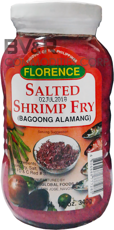 FLORENCE SALTED SHRIMP FRY (BAGOONG ALAMANG)