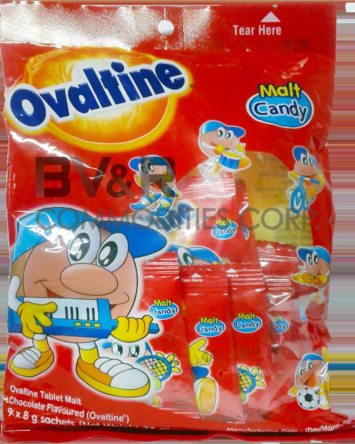 OVALTINE OVALTEENIES CHOC MALT TREATS